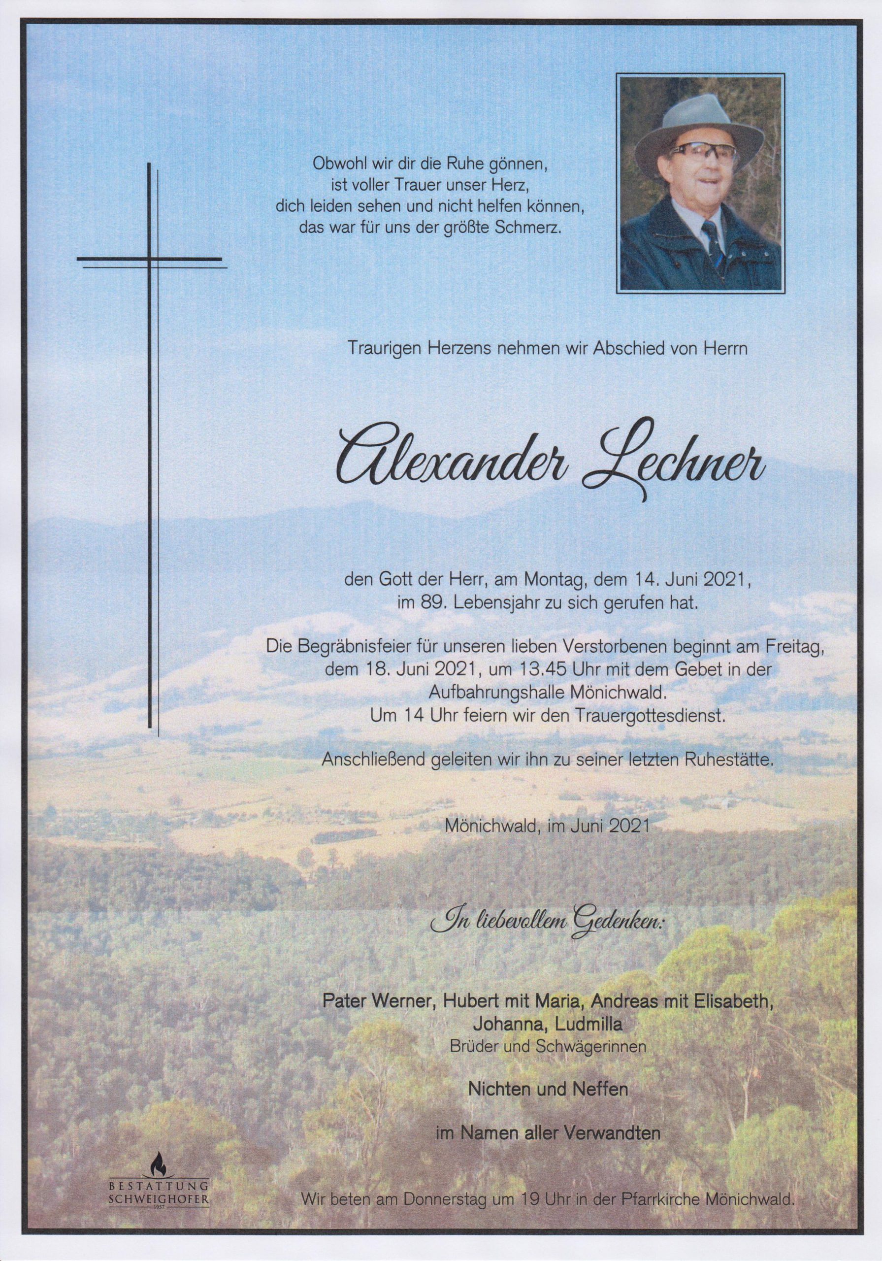 You are currently viewing Alexander Lechner