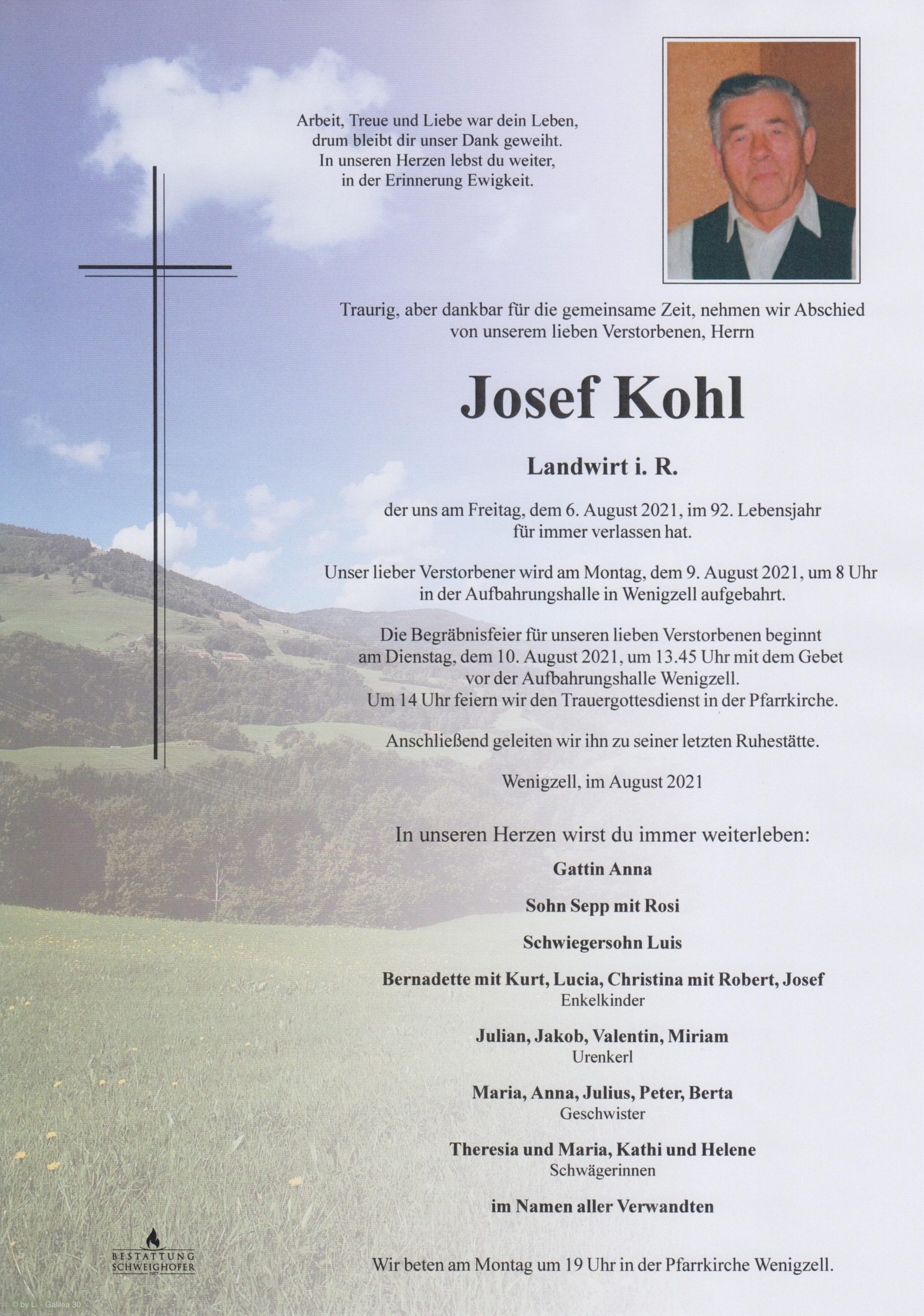 You are currently viewing Josef Kohl